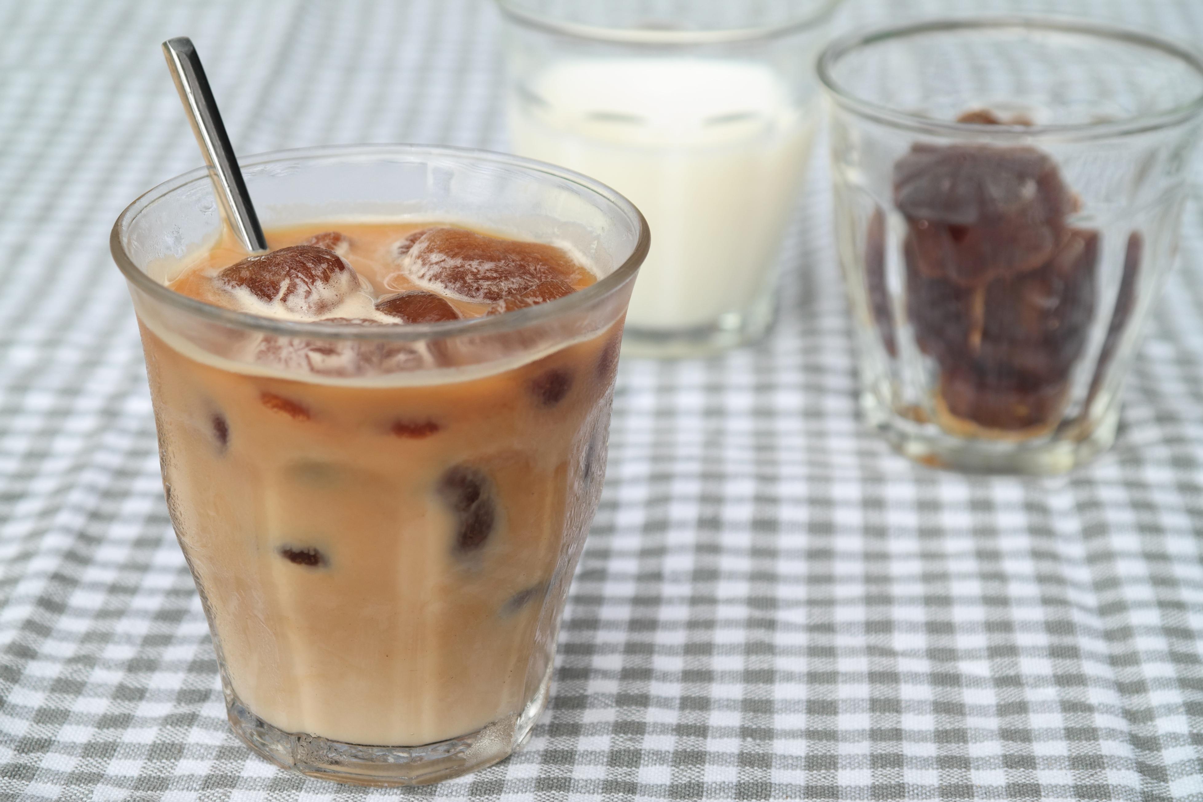 Snelle ijskoffie recept